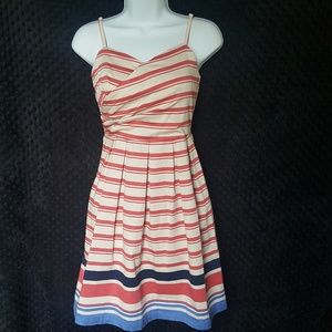 Red Camel striped sundress dress